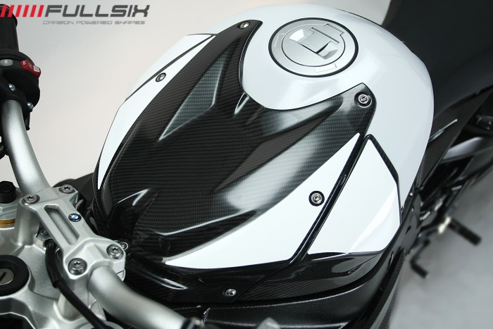 BMW S1000R Naked Carbon Fibre tank cover
