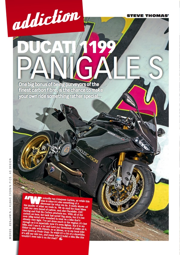 Fast Bikes photo shoot Conquest Carbon Ducati Panigale 1199 RS