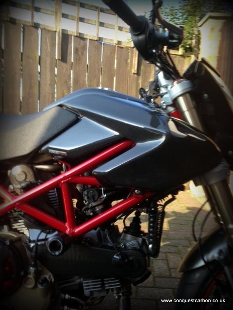 Ducati Hypermotard 1100 Carbon Fibre