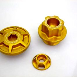 GiaMoto Aprilia RSV4 Inspection Cover Oil Filler Plug Tank Airbox Spacer