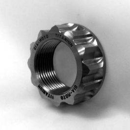GiaMoto Aprilia Titanium Rear Wheel Nut