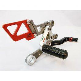 GiaMoto Aprilia RSV4 RF Rearset Kit Pole Position Colours
