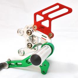 GiaMoto Aprilia RSV4 Rearsets Limited Edition Tricolour