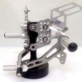 GiaMoto Aprilia Tuono V4 Titanium Rearset Kit
