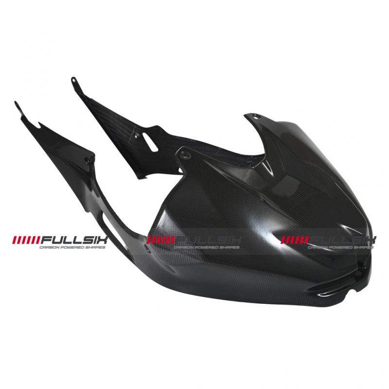 Fullsix BMW S1000RR Carbon Fibre Tank Cover Integrated Side Panels 09-11