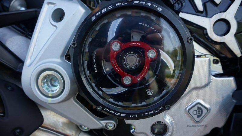 Ducabike Ducati Scrambler 1100 Clear Clutch Cover Kit