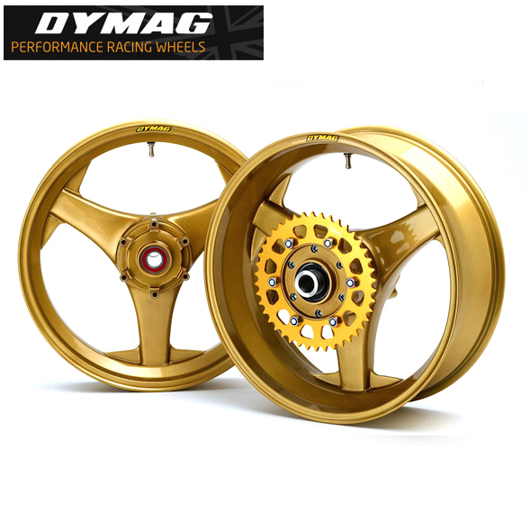 Dymag Aprilia TT3 Cast Magnesium Road Race Wheels
