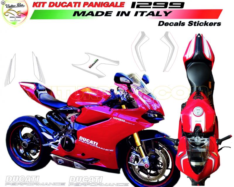 Vulturbike Ducati Panigale 959 1299 Ducati Performance Decal Sticker Kit