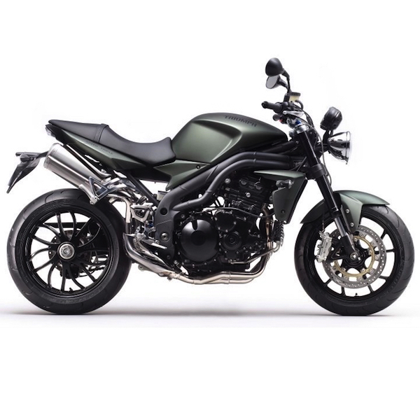 SC Project Exhaust Triumph Speed Triple 2008 - 2010
