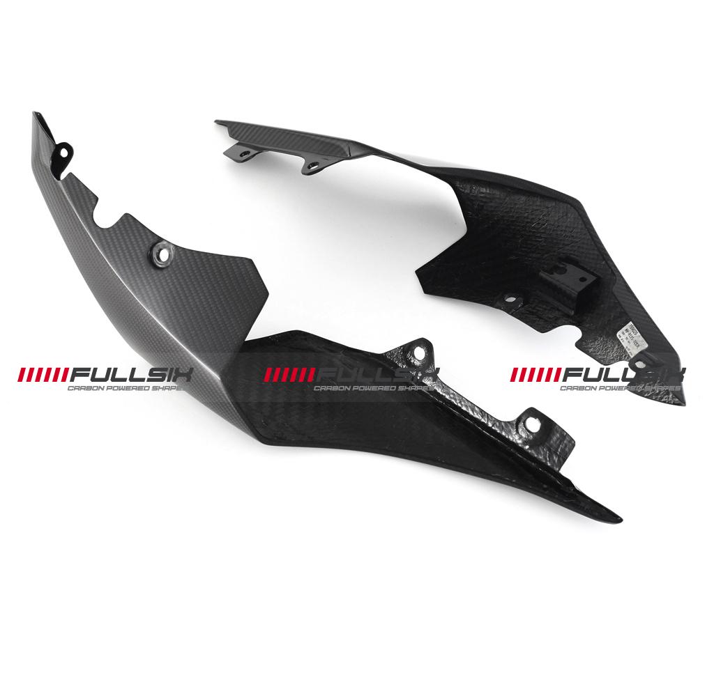 Fullsix yamaha yzf r1 carbon fibre seat tail side fairing for Yamaha r1 carbon fiber parts