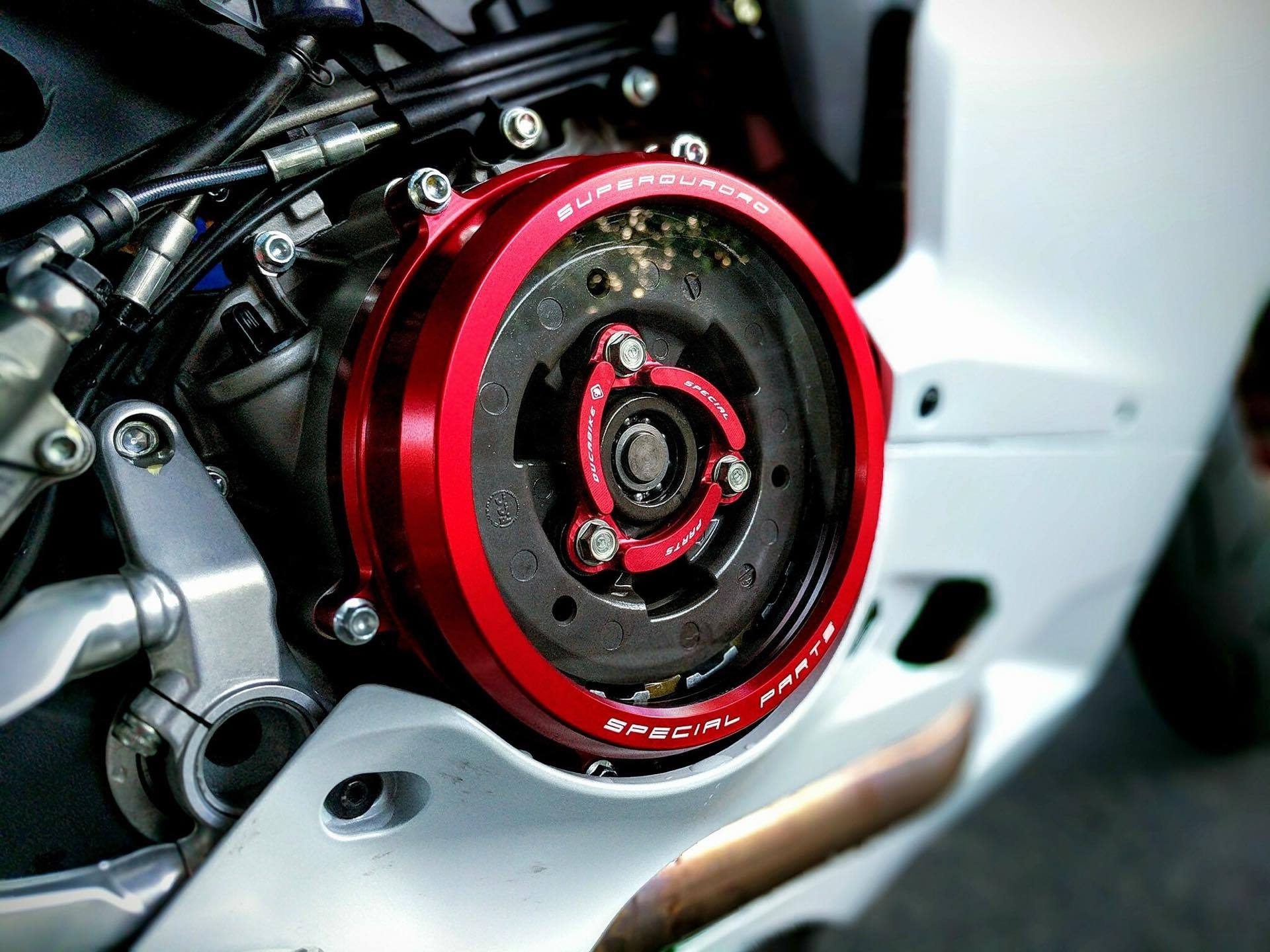What Does Cnc Stand For >> Ducabike Ducati Panigale Clear Clutch Cover & Retainer ...