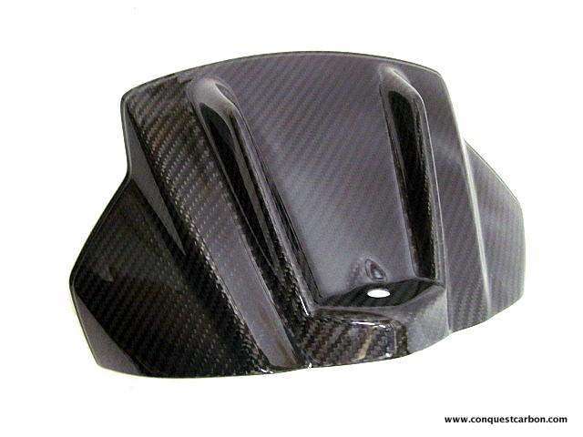 Aprilia RSV4 RF RR Carbon Fibre Tank Cover Gloss