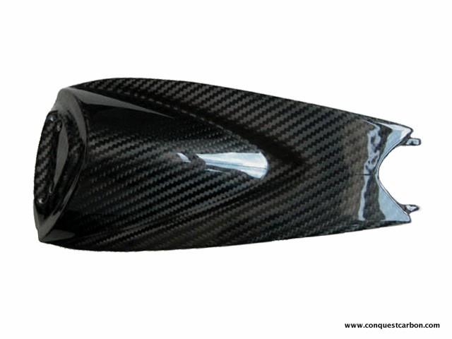 Aprilia RSV4 Carbon Fibre Seat Cover Gloss