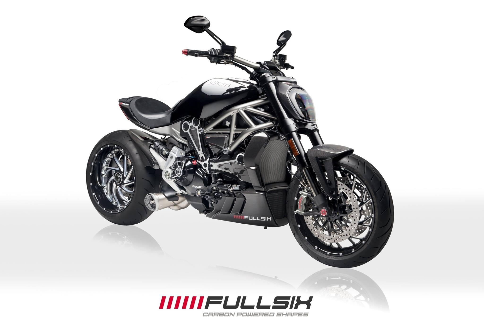 Ducati XDiavel Carbon Fibre Parts - Fullsix Carbon