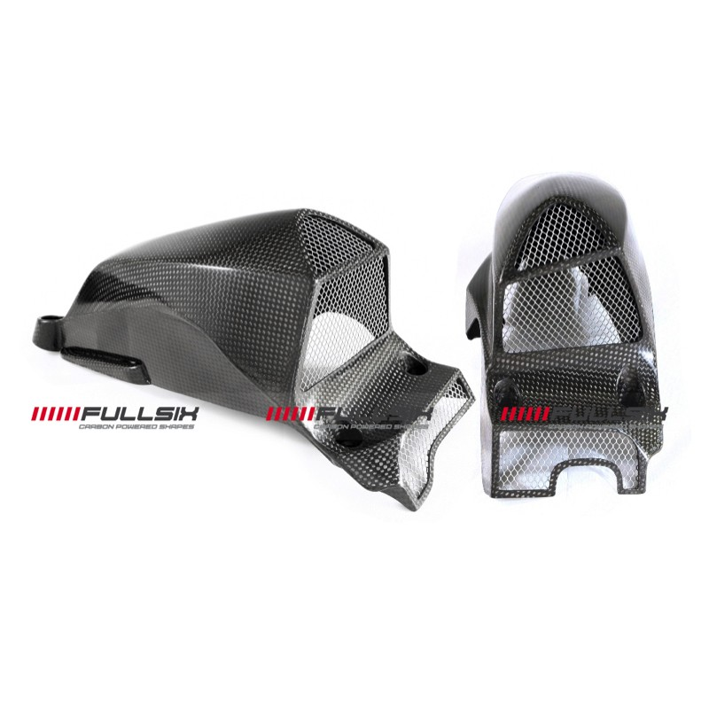 Fullsix Ducati Streetfighter Carbon Fibre Air Intakes Oversized