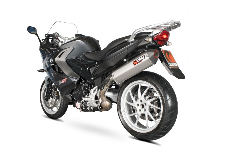 scorpion exhaust bmw f800 gt serket slip on 2013. Black Bedroom Furniture Sets. Home Design Ideas