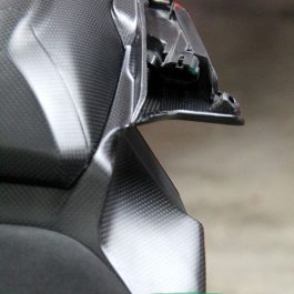 Ducati 959 1299 Panigale Carbon Fibre Underseat Tray Air Intake