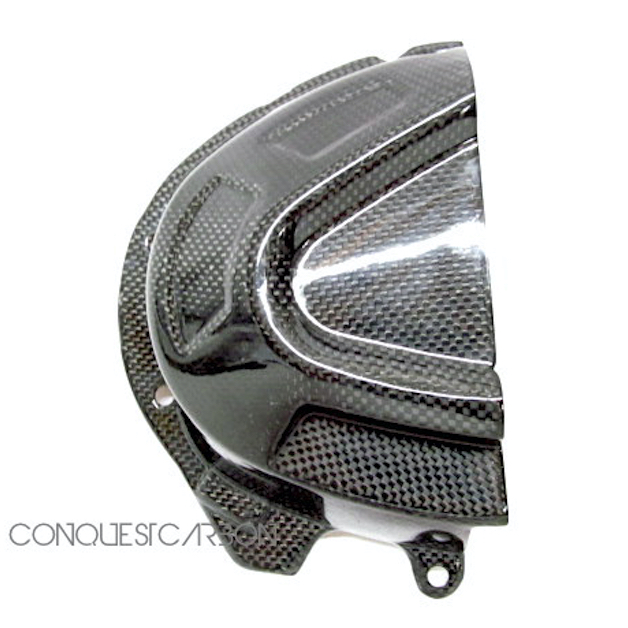 Triumph Speed Triple Carbon Fibre Sprocket Cover Gloss 2016+