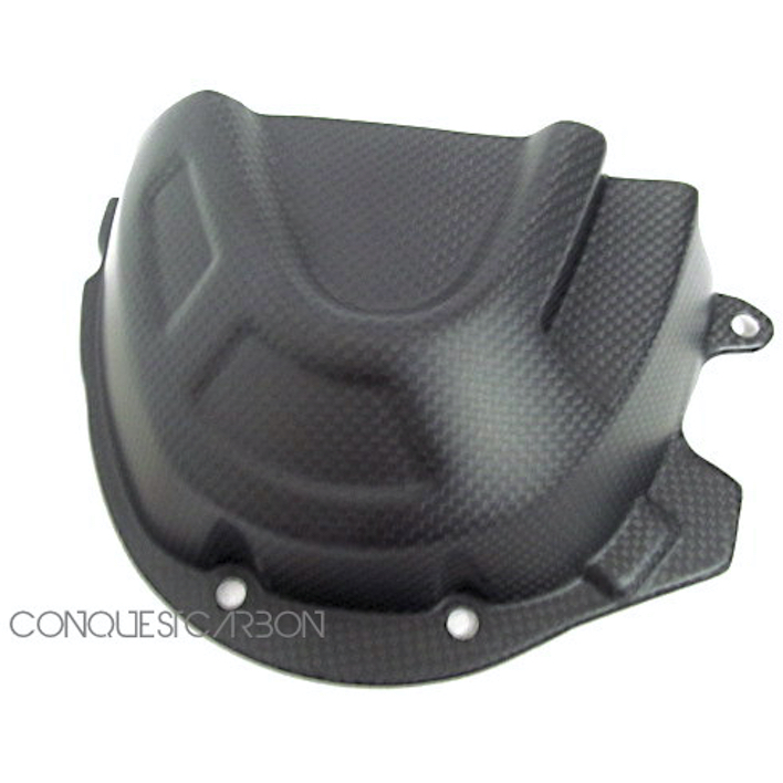 Triumph Speed Triple Carbon Fibre Sprocket Cover Satin 2016+