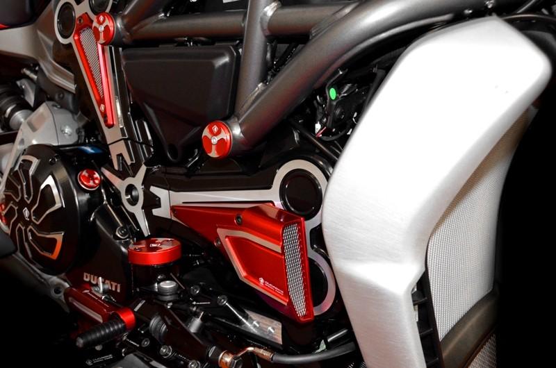 Ducabike Ducati XDiavel CNC Belt Cover Air Intake CAO01