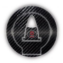 Carboteh Aprilia Carbon Fibre Tank Cap Cover Decal TC-001