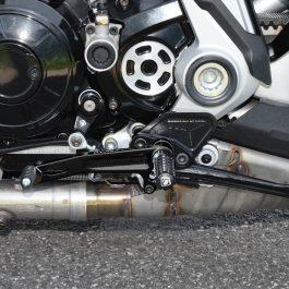 Ducabike Ducati XDiavel CNC Centre Control Adjustable Rearsets PRXDV01