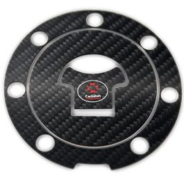 Carboteh Honda Carbon Fibre Tank Cap Cover Decal TC-015