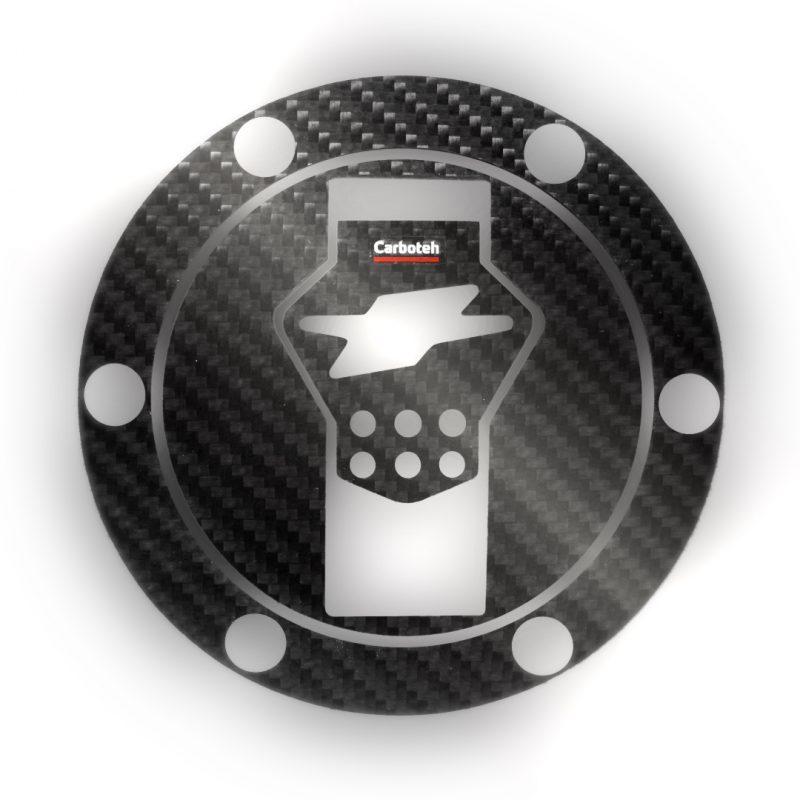 Carboteh MV Agusta Carbon Fibre Tank Cap Cover Decal TC-025