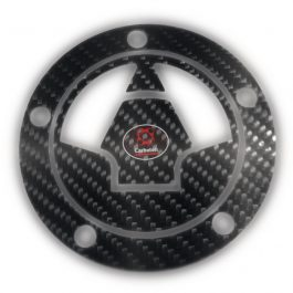 Carboteh Kawasaki Carbon Fibre Tank Cap Cover Decal TC-018