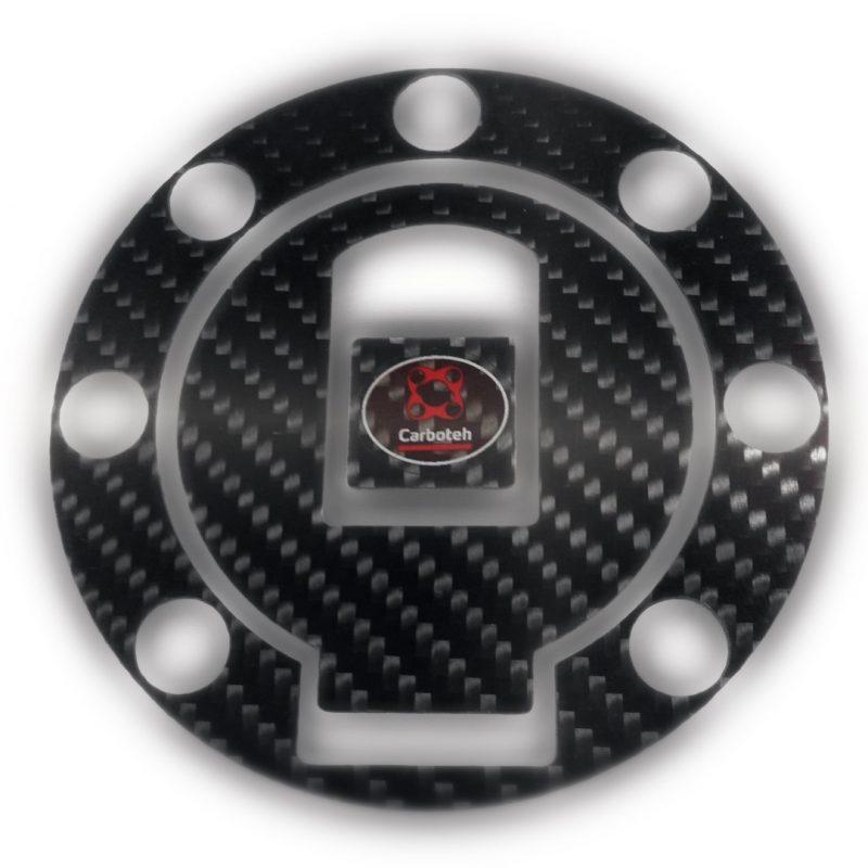 Carboteh Yamaha Carbon Fibre Tank Cap Cover Decal TC-030