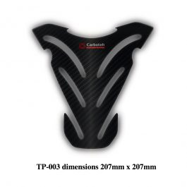 Carboteh Universal Real Carbon Fibre Tank Pad Protector TP-003