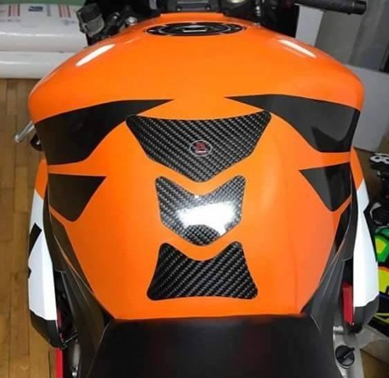 Carboteh Honda CBR Real Carbon Fibre Tank Pad Protector TP-H-S-006