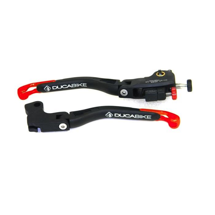 Ducabike Ducati SuperSport Brake & Clutch Adjustable Folding Levers L05