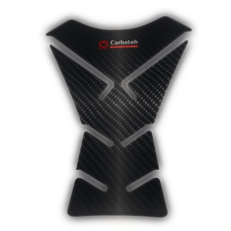 Carboteh Universal Real Carbon Fibre Tank Pad Protector TP-012