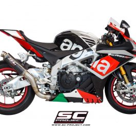 SC Project Exhaust Aprilia RSV4 RF RR GP65 Silencer 2015-16