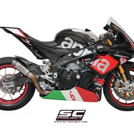 SC Project Exhaust Aprilia RSV4 RF RR GP70-R Silencer 2015-16
