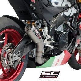 SC Project Exhaust Aprilia RSV4 RF RR CR-T Silencer 2015-16