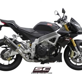 SC Project Exhaust Aprilia Tuono V4 APRC Oval Silencer 11-14