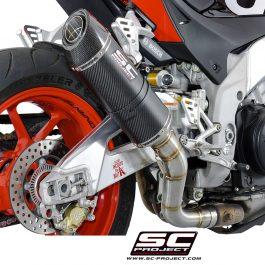 SC Project Exhaust Aprilia Tuono V4 RR Factory Oval Silencer 15-16