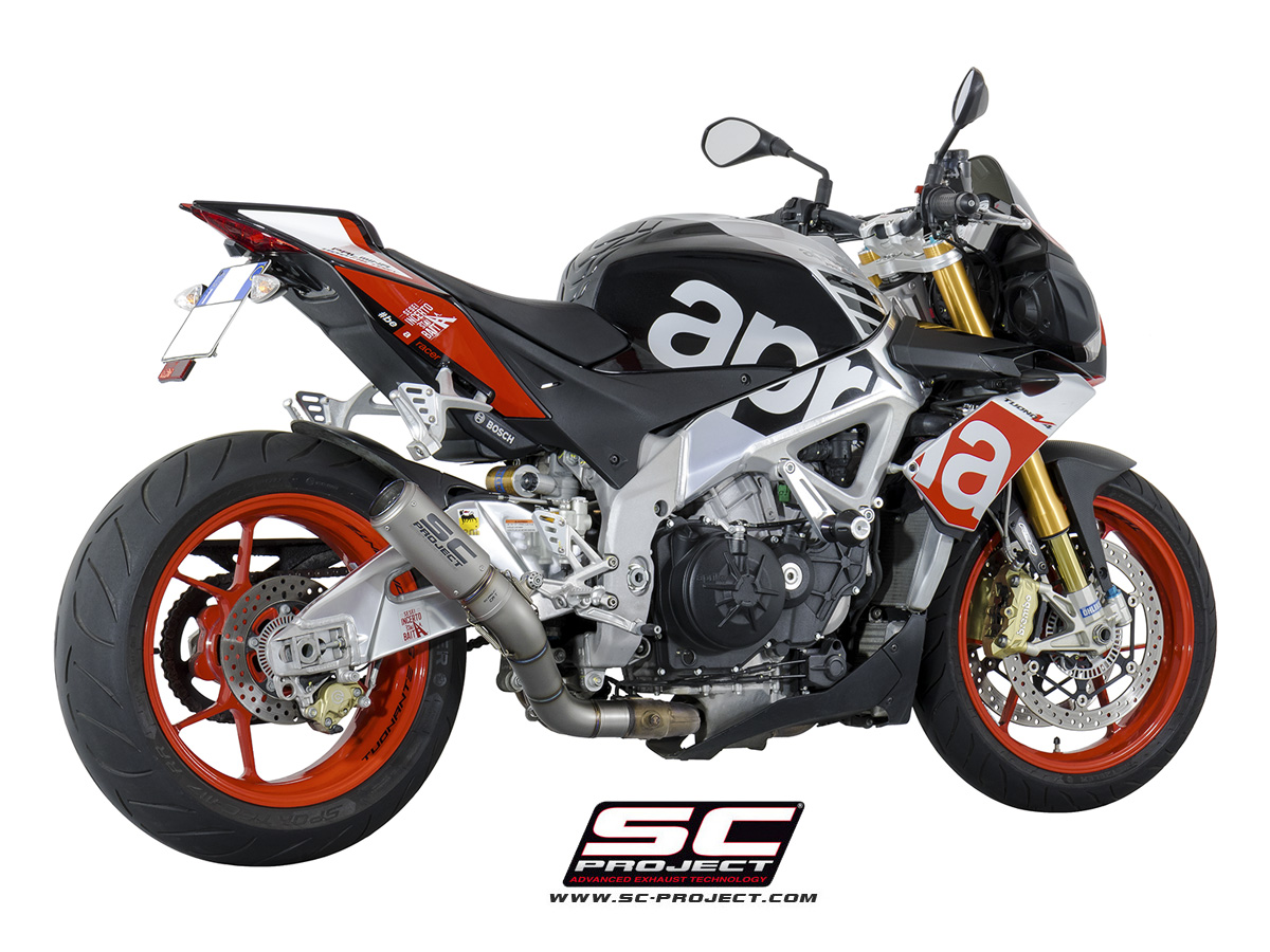 SC Project Exhaust Aprilia Tuono V4 RR Factory CR-T Silencer 15-16