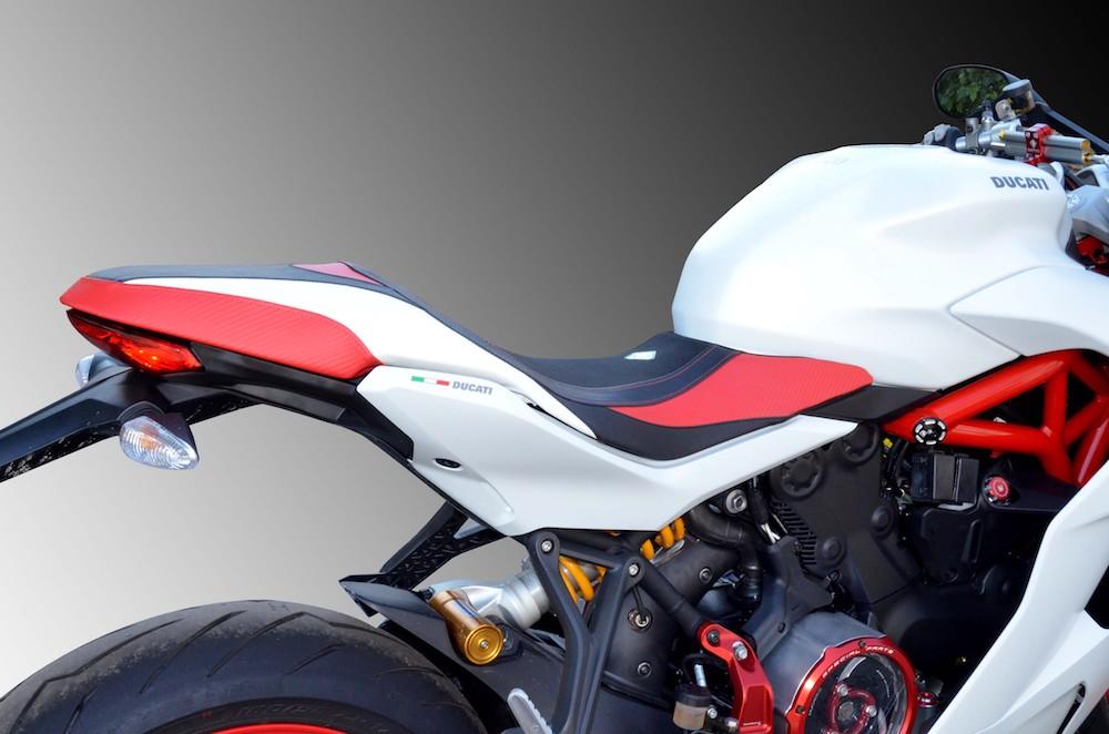 CSSS 01 Housse de siège Ducabike pour Ducati Super Sport 2017
