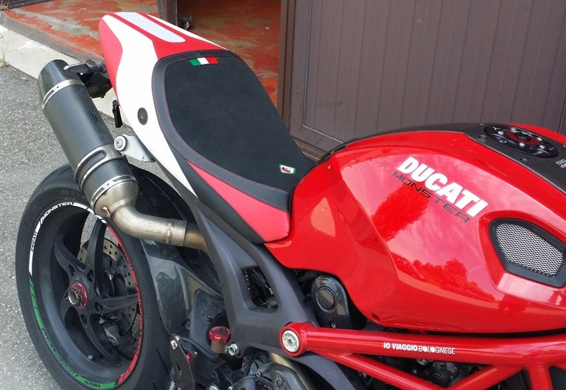 Ducabike Ducati Monster 696 796 1100 Evo Seat Cover CSM01 ...