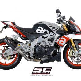 SC Project Exhaust Aprilia Tuono V4 RR Factory Oval Racing Silencer 15-16