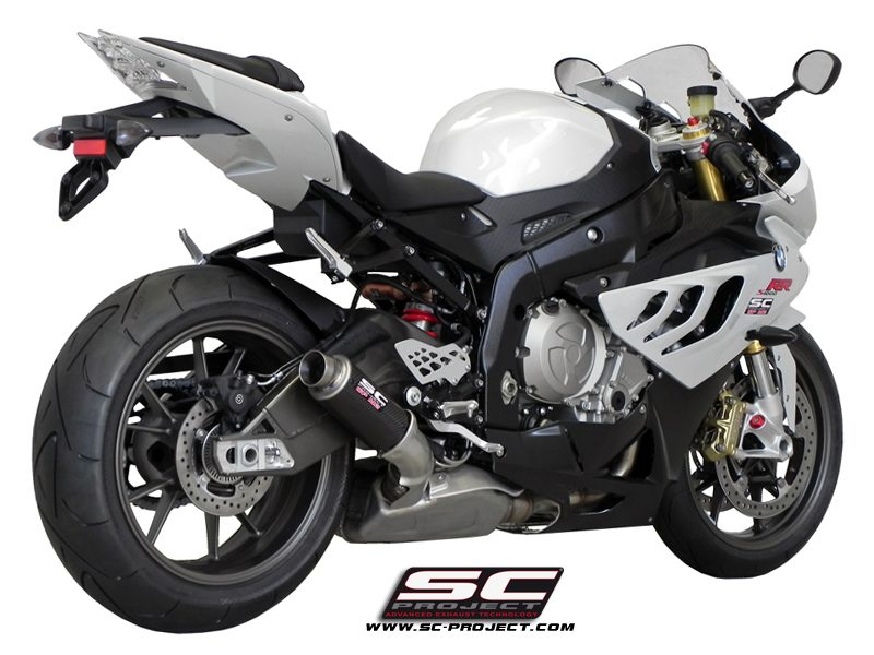 SC Project Exhaust BMW S1000RR HP4 GP M2 Silencer 2010-2014