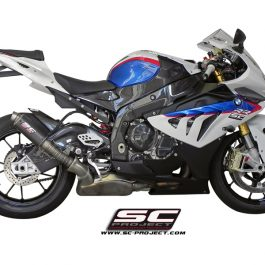 SC Project Exhaust BMW S1000RR HP4 GP M2 Silencer High Position 2010-2014
