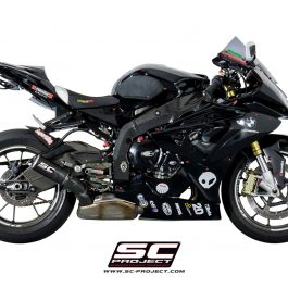 SC Project Exhaust BMW S1000RR HP4 CR-T Silencer 2010-2014