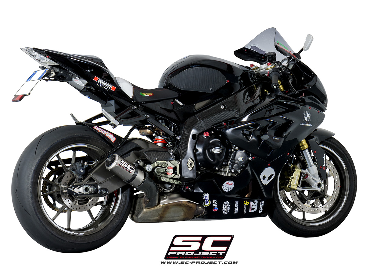 sc project exhaust bmw s1000rr hp4 cr t silencer 2010 2014. Black Bedroom Furniture Sets. Home Design Ideas