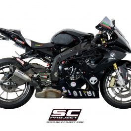 SC Project Exhaust BMW S1000RR HP4 S1 Silencer 2010-2014