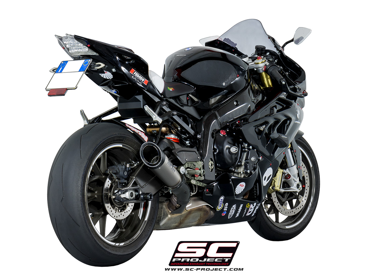 sc project exhaust bmw s1000rr hp4 s1 silencer 2010 2014. Black Bedroom Furniture Sets. Home Design Ideas