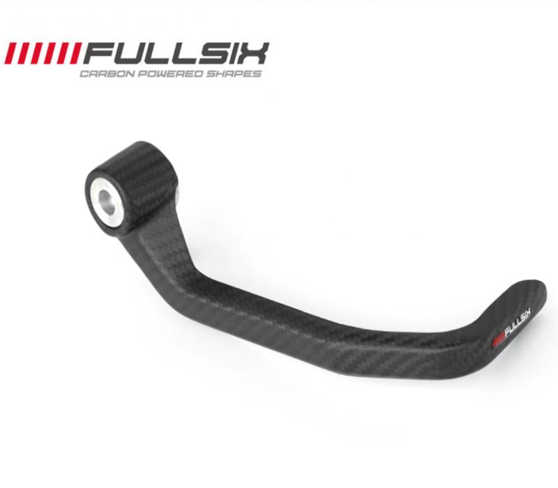 Fullsix Universal Carbon Fibre Brake Lever Protector Guard Twill Weave LEO